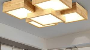 Japanese Ceiling Light Reclaimed Wood Ceiling Light Which Is Part Of Shades Eco Popular