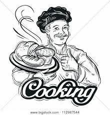 hand drawn sketch baker bread vector u0026 photo bigstock