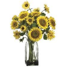 artificial sunflowers sunflower artificial flowers you ll wayfair