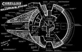 millenium falcon floor plan photo collection millenium falcon blueprints wallpaper black