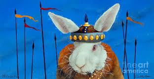 the bun attila the bun painting by will bullas
