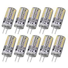 rayhoo 10pcs set g4 48 led warm white light bulb lamps 3 watt dc