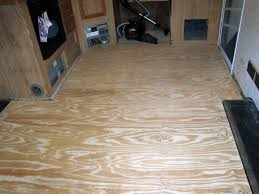 rv fixing the floor so where to