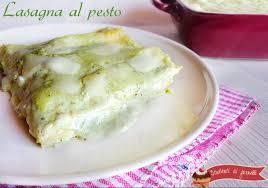 giallo zafferano cucina vegetariana lasagna al pesto ricetta gustosa primo piatto della domenica