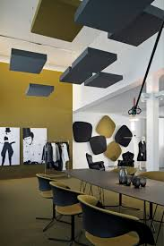 Office Interior Designers by Acoustical Ceiling Panels Acoustic Ceiling Clouds Cube Cas
