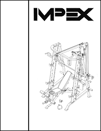 impex home gym sm 6001 user guide manualsonline com