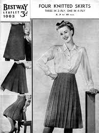 vintage dress knitting patterns available from the vintage