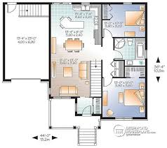 bungalow house plans with basement house plan w3126 v1 detail from drummondhouseplans com