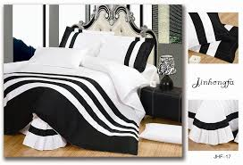 brilliant black white bed set promotion for promotional black white bed in black and white duvet covers queen
