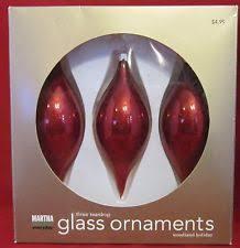 martha stewart ornaments ebay