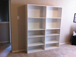 White Bookcases With Doors by Furniture Interesting Target Bookcases With Side Table And Candle