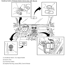 2005 pontiac manual transmission the parking brake lights come