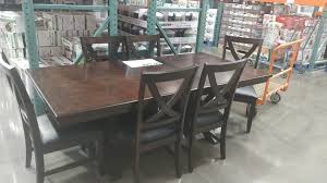 costco dining room furniture bayside 7 piece dining set 499 99 at costco in store only