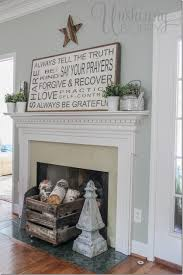 house rules design ideas summer mantel decor with handpainted sign3 thumb projects to