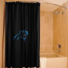 Seahawks Shower Curtain Carolina Panthers 72 U0027 U0027 X 72 U0027 U0027 Shower Curtain Black Nflshop Com