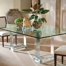 Best Glass Dining Table Images On Pinterest Glass Dining - Glass top dining table decoration