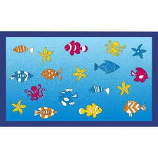 Fish Area Rugs Spaces Home U0026 Beyond Area Rugs Rugs The Home Depot