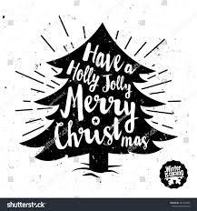 retro vintage minimal merry christmas background stock vector