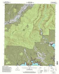 Red River Gorge Map Back Country Camping At Linville Gorge