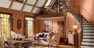orange painted room inspiration u0026 project gallery behr