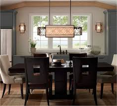 kitchen dining lighting ideas light fixture height above dining table set also modern