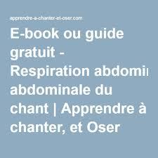 apprendre a cuisiner gratuitement e book ou guide gratuit respiration abdominale du chant