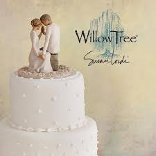 willow tree cake toppers willow tree around you cake topper enesco