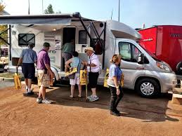 winnebago says trend class c a hit in hershey rv business consumers