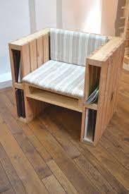 make a chair with pallets here are 20 ideas