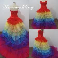rainbow wedding dress rosaurasandoval com