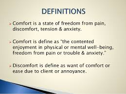 Comforts Definition Comfort Devices