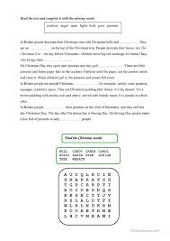 christmas worksheets for elementary students christmas worksheet