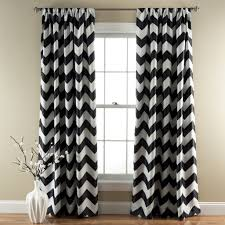 Window And Shower Curtain Sets Chevron Blackout Window Curtain Set Lush Décor Www Lushdecor Com