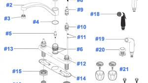 delta kitchen faucet repair instructions enchanting 24 delta sink parts faucet 13900lf ss list and on