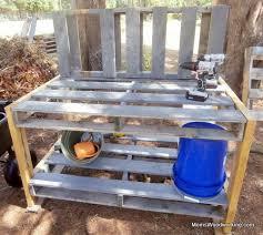 Plant Bench Plans - best 25 pallet potting bench ideas on pinterest potting station
