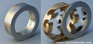 cool wedding bands intertwined wedding rings cool dude
