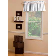 lilac and silver gray damask window valance rod pocket carousel