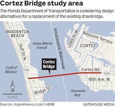 Anna Maria Florida Map by Fdot Higher Cortez Bridge Is The Best Option News Sarasota