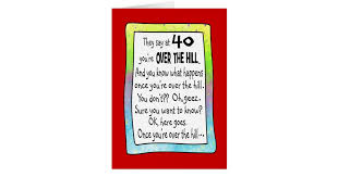 funny 40th birthday cards greeting u0026 photo cards zazzle