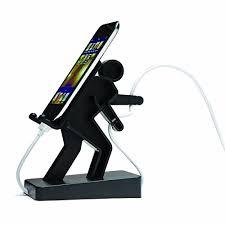 support de bureau pour smartphone idée cadeau le bonhomme support pour smartphone http