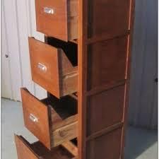 Oak File Cabinet 4 Drawer An Antique Wooden File Cabinet For Sale Cabinet Home