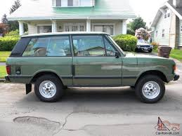range rover classic 2 door lhd v8 manual transmission lincoln green