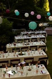 Wedding Backyard Reception Ideas by Our Backyard Wedding Reception Party Planning U0026 Decor