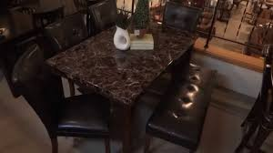 Ashley Furniture Lacey Dining Table Set W Bench D Review YouTube - Ashley furniture dining table bench