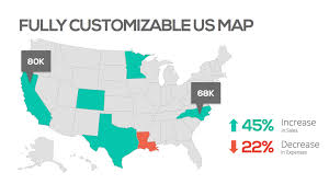 free powerpoint maps of usa free customcolored maps of the us