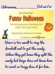 toopy and binoo funny halloween listen to reading