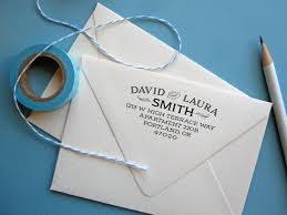 wedding invitations return address return address st with address and apartment number
