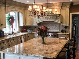 granite countertop kitchen cabinet glass door design bianco