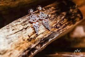 wedding earrings drop gold drop wedding earrings starbox jewellery weddings