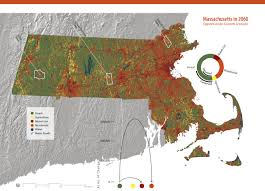 Massachusetts Map Changes To The Land Four Scenarios For The Future Of The